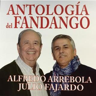 CD. Libro Antología del Fandango Con Alfredo Arrebola 2.015
