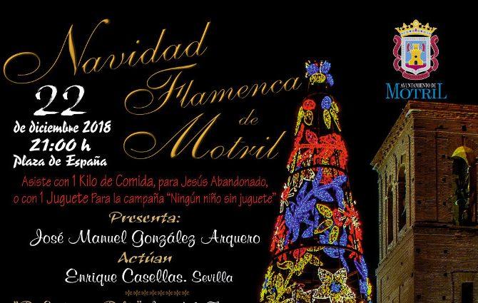 El mejor Flamenco de Jerez y de la Costa se da cita en Motril para celebrar la Navidad