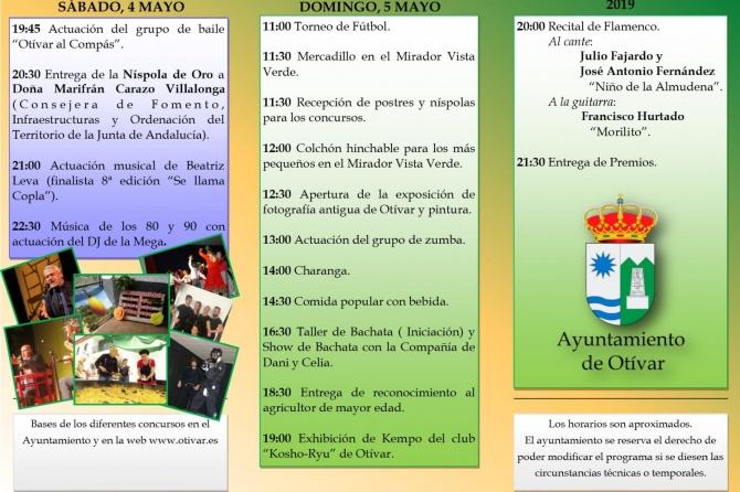 XVIII Día de la Níspola en Otivar (Granada)